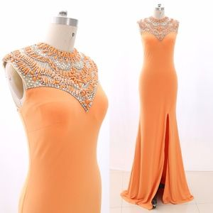 Dresses & Skirts - Jersey Prom Pageant Gown Formal Evening Dresses